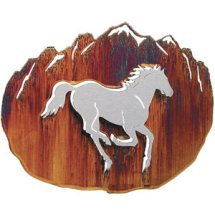 3-D Horse Metal Wall Art