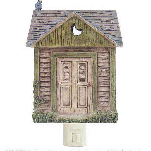Outhouse Style Nightlight
