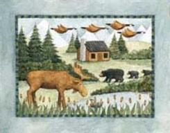 Moose, Bears, and Geese