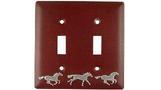 Horse Theme Switch Plate
