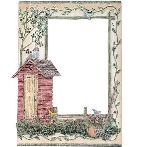 Outhouse Style Picture Frame